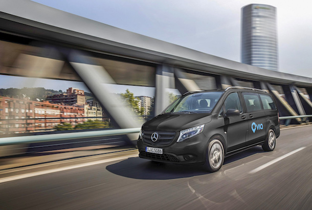 Mercedes-Benz Vans and Daimler Mobility Services Invest in Via""