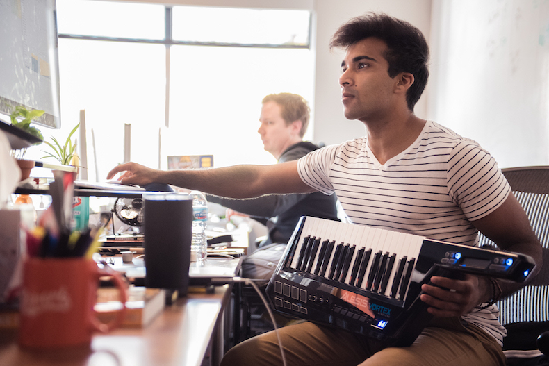 This musician left life on the road for the tech scene