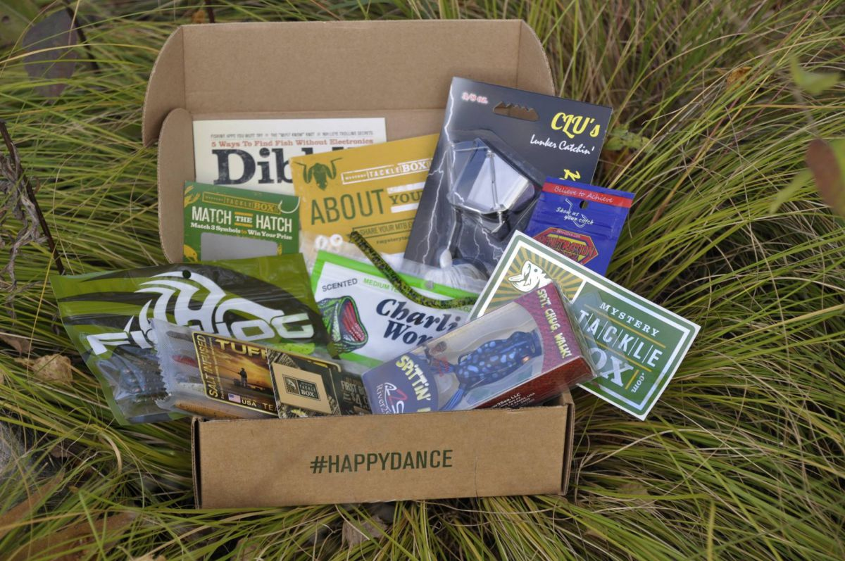 Mystery tackle box subscription for Fishing box subscription